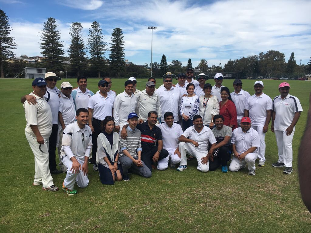 Inaugural AIMA T20 Cricket Match, October 2017