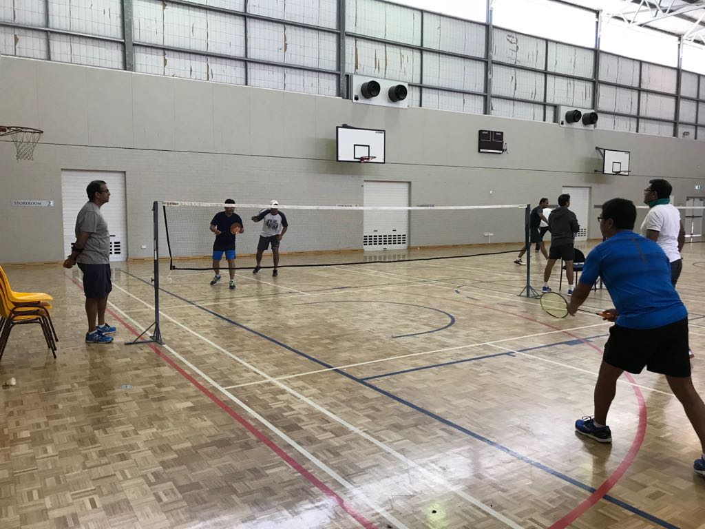 AIMA Badminton and Chess Tournament, March 2018