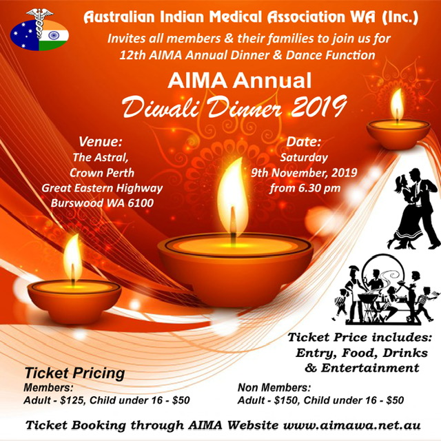 AIMA DIWALI Dinner 2019