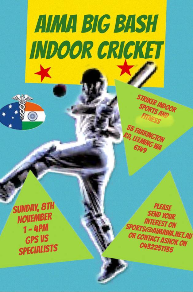 AIMA BIG BASH INDOOR CRICKET