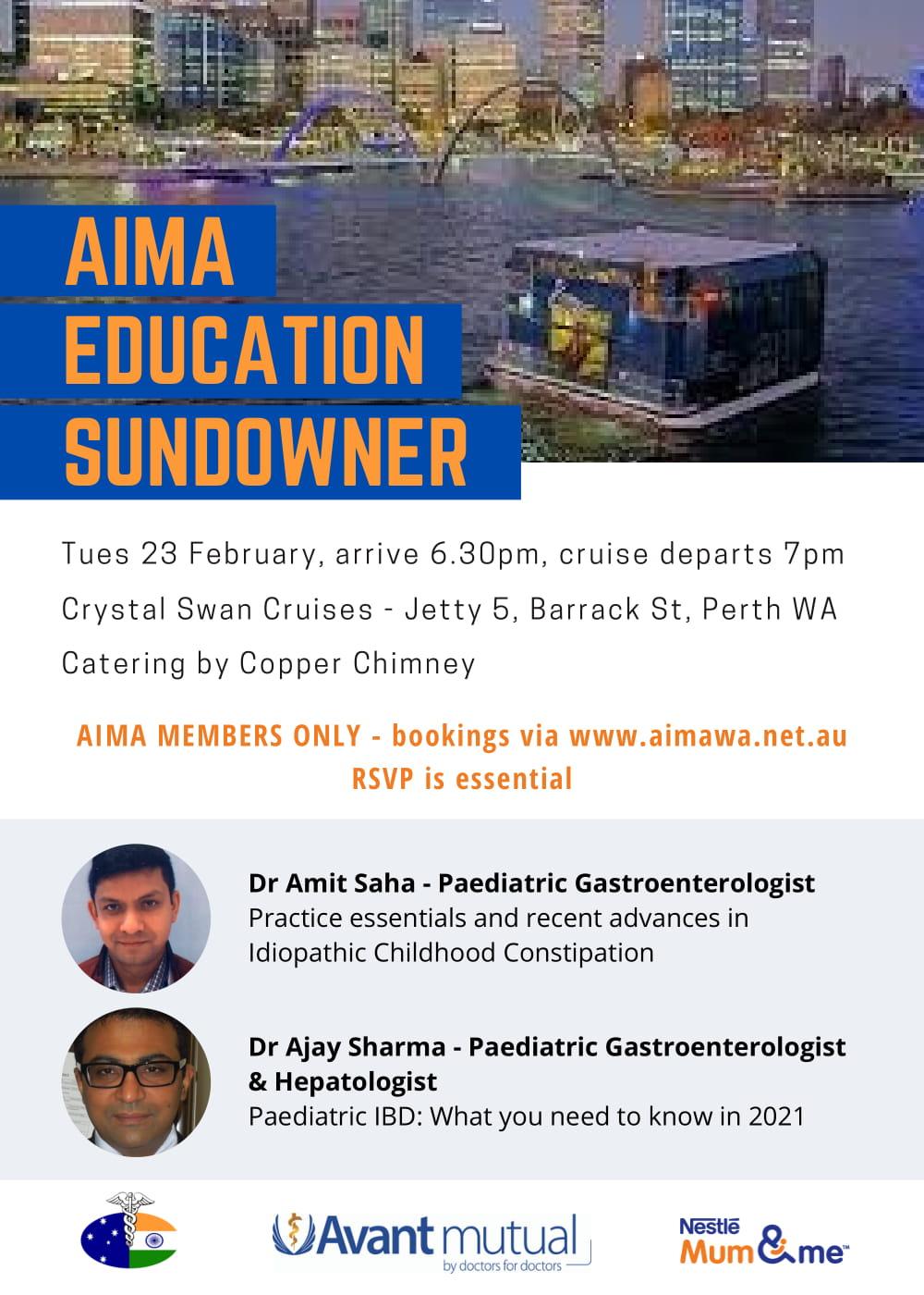 AIMA EDUCATION SUNDOWNER