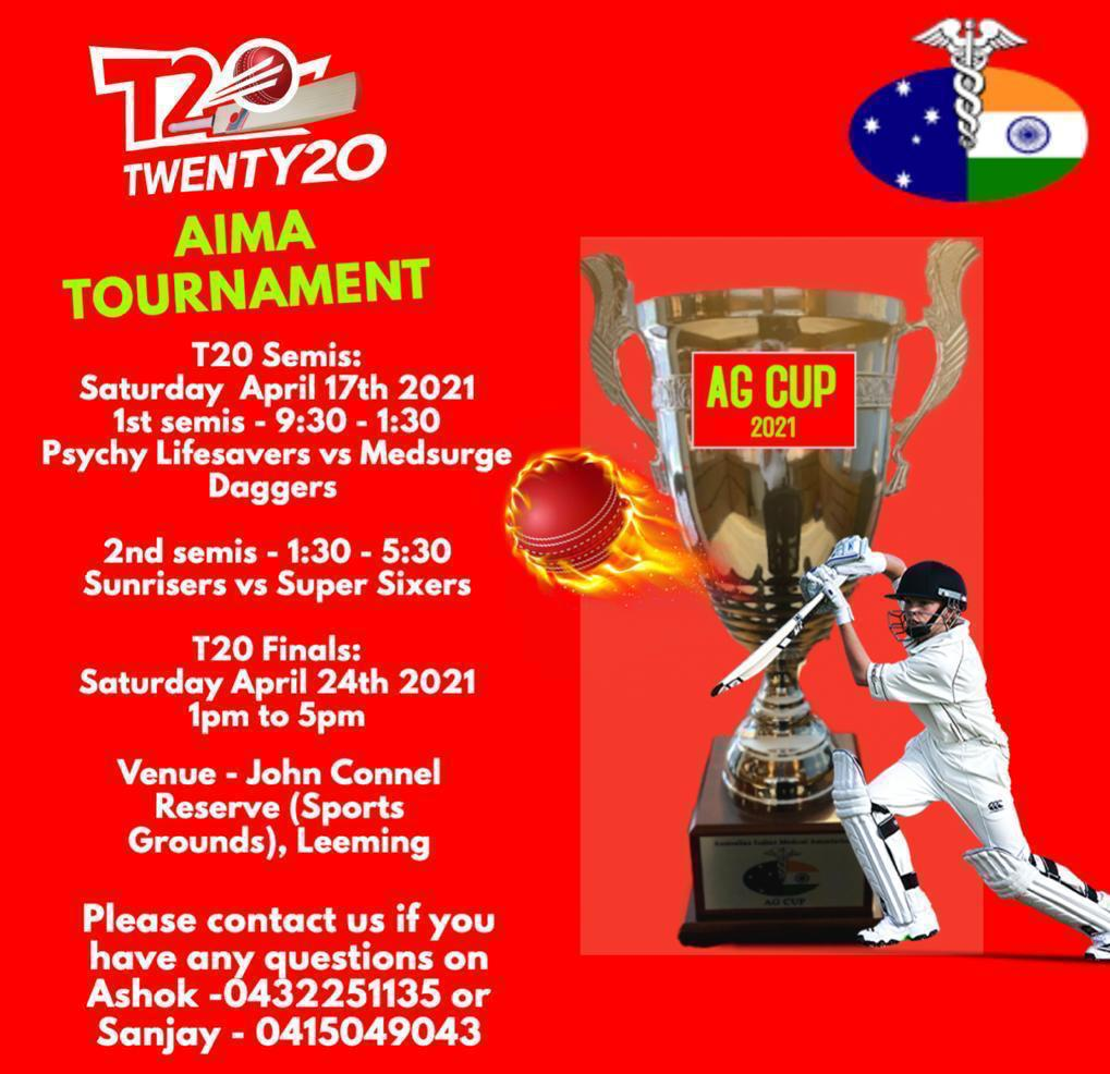 AG Cup 2021- T20 Cricket Tournament